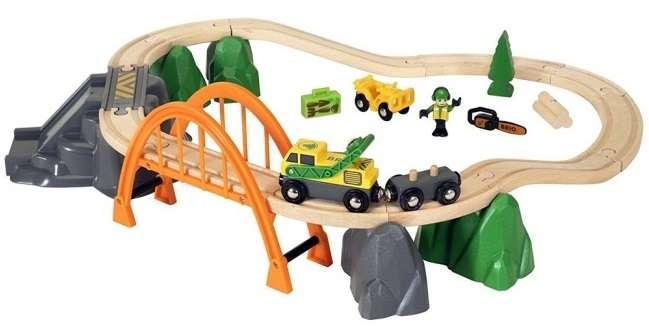 Trenini di legno BRIO
